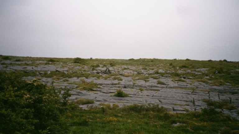 To plough the rocks of the Burren