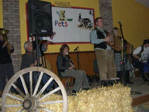 Good Evening! We are the Pets Ceilidh Band