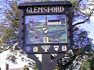 Glemsford's Village Sign