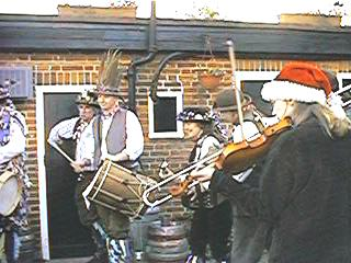 The musicians at the White Hart