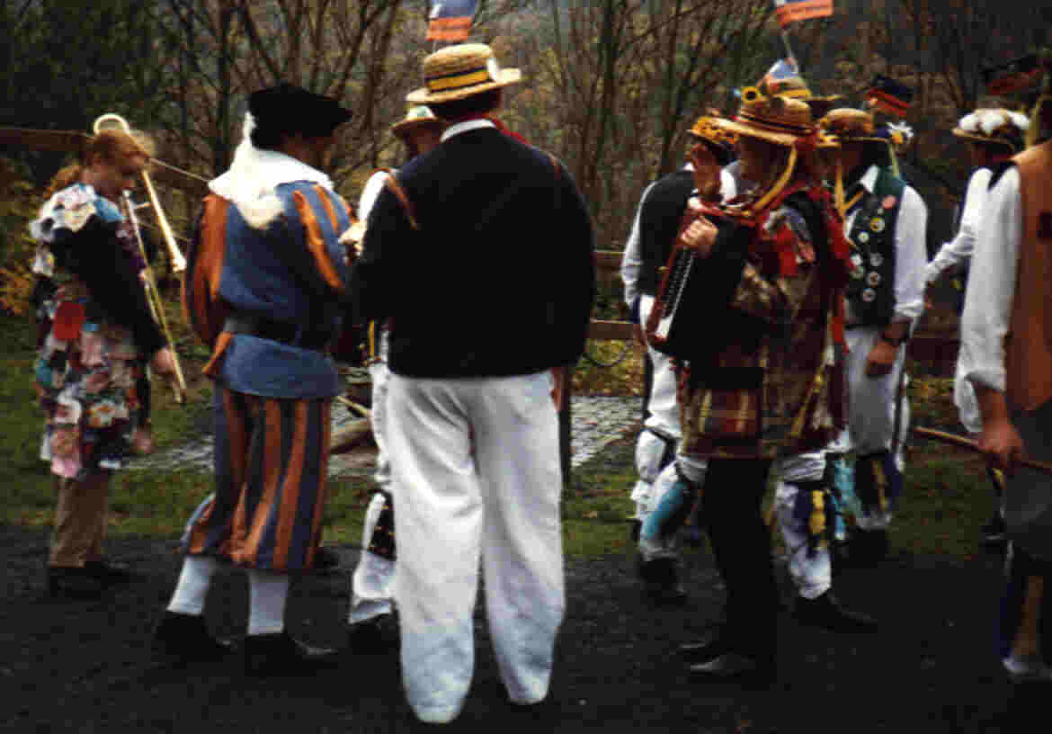 We danced at Dillenburg, and met other strange costumes